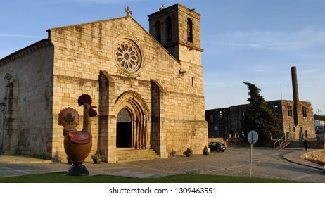 Barcelos main church in historical site.