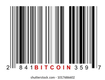 Barcode for identifying all things of bitcoin