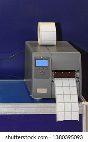 Barcode Label Printer Machine in Warehouse