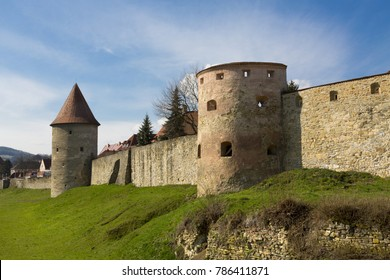 Bardejov city medieval fortress wall