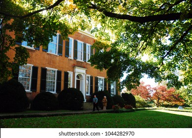 Bardstown, KY, USA October 18, 2009  Federal Hill, said to be the inspiration for the Stephen Foster Song My Ol Kentucky Home, stands in a state park outside of Bardstown, Kentucky