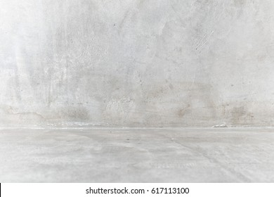 Bare cement wall room background