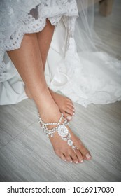 Bare foots beach wedding