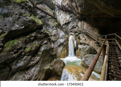 Barenschutzklamm, gorge in Styria (Austria)