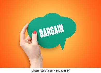 Bargain, Business Concept