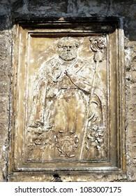2349b6ca89582 Bari   Italy - 05.23.2016  The Pontifical Basilica di San Nicola. Lunet