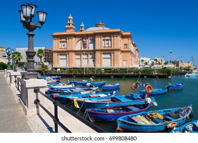 BARI, ITALY - 14 AUGUST 2017 - A visit in the capital of Apulia region, a big city on the Adriatic sea, with historic center named Bari Vecchia and the famous waterfront