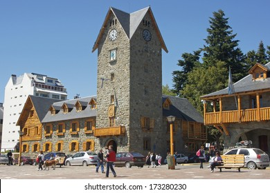 BARILOCHE, ARGENTINA - FEBRUARY 5: Town hall of San Carlos de Bariloche on February 05, 2011 in Bariloche, Argentina, South America