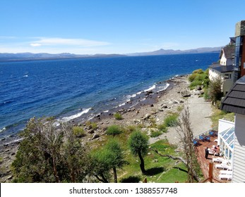 Bariloche/Argentina - February 9, 2017: one of the beautiful nature scenes of Bariloche, Argentina.