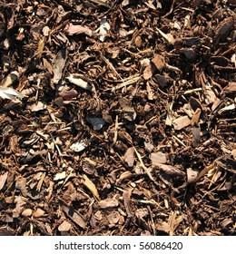 bark mulch for background
