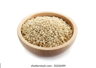 barley on bowl
