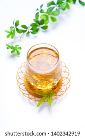 Barley tea, An image of Japanese barley tea