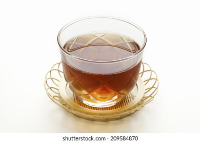 The Barley Tea Made Up Of Glass