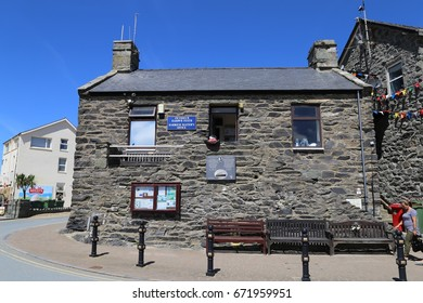 Barmouth, Gwynedd, Wales, UK. 1 July 2017. Harbour Master's Office