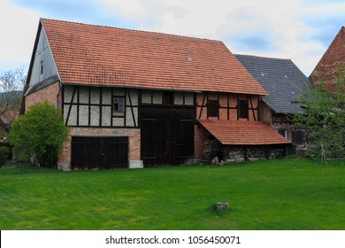 barn as a frame house in Germany