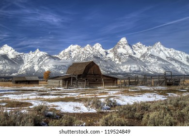 Barn in Grand Teton National Park, Wyoming