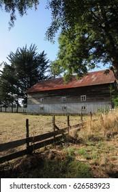 Barn in Osorno, South of Chile