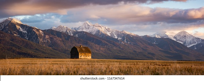 Barn in Pablo Montana