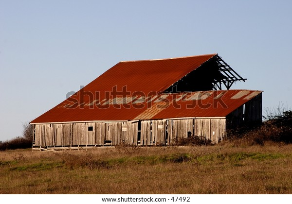 Barn at Table Bluff, Humboldt Co.