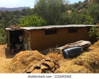 A barn in Tizi Ouzou, Algeria.