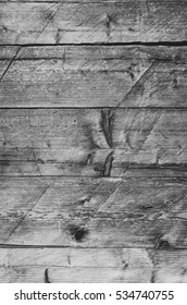 Barn wall abstract naturaly weathered wooden shabby rustic dirty planks closeup vertical black and white background texture