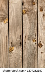 Barn Wooden Wall Planking Texture. Reclaimed Old Wood Slats Rustic Background. Home Interior Design Element In Modern Vintage Style. Hardwood Dark Brown Timber Solid Structure.