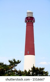 The Barnegat Lighthouse on Long Beach Island, New Jersey
