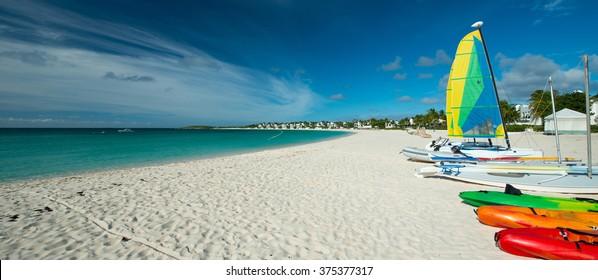 Barnes Bay, Anguilla Island, English West Indies