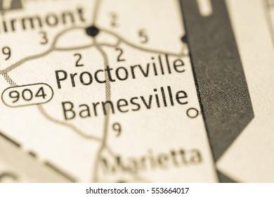 Barnesville. North Carolina. USA