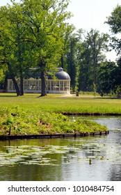 Barneveld, Netherlands, 27-08-2015, Schaffelaar castle, Orangerie, Gardens