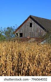Barns in the Heartlands of America