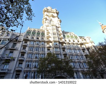 The Barolo Palace (also called Barolo Passage or Barolo Gallery) is an office building located on Avenida de Mayo, in the neighborhood of Monserrat, in Buenos Aires, Argentina.