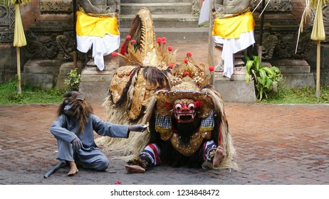Barong dance the beginning