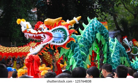 Barongsai / Liong in action