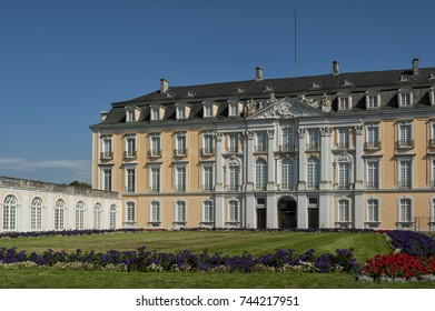 The Baroque Augustusburg Castle is one of the first important creations of Rococo in Bruhl near Bonn, North Rhine Westphalia - Germany. Since 1984 it is in the list of World Heritage Site.