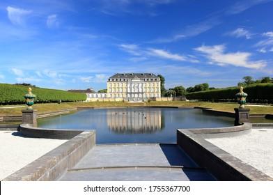 Das barocke Augustusburger Schloss. Brühl, Deutschland, Europa.
