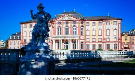 the baroque Château of Bruchsal