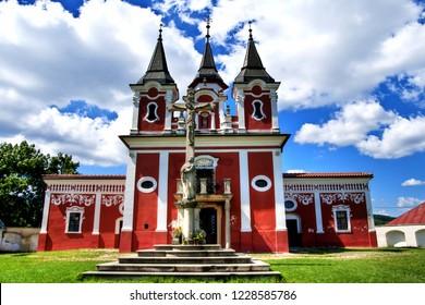 Baroque Calvary Complex, chapel in Presov, Slovakia
