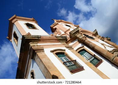 Baroque church in Brazil