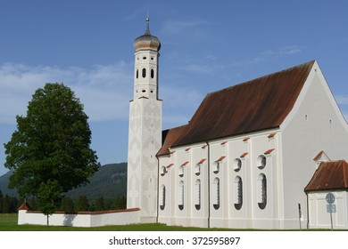 Baroque church of Saint Coloman