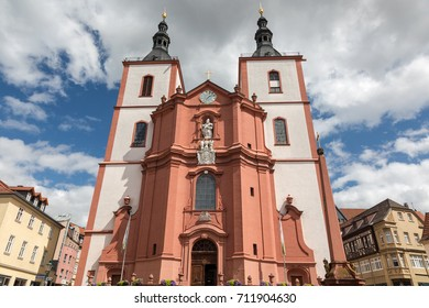 Baroque church St. Blasius, Fulda, Hesse, Germany