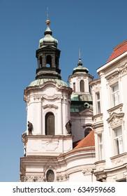 Baroque church tower