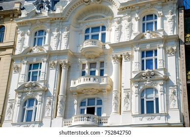 Baroque Facade, Vienna, Austria