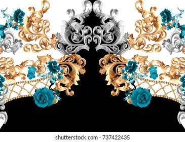 baroque flower