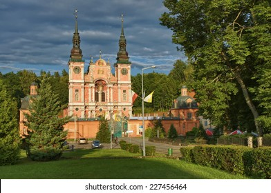 Baroque Marian Sanctuary in Swieta Lipka, Mazury - one of the most famous churches in Poland