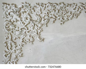 Baroque ornament detail