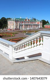 Baroque palace of Kadriorg, near Tallinn in Estonia (Baltic countries - Europe)