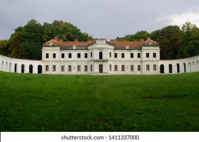 Baroque palace of the Los family in Narol
