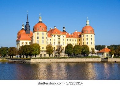 Baroque palace in Moritzburg, Saxon, Dresden