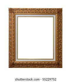 Baroque picture frames to put your own pictures in.